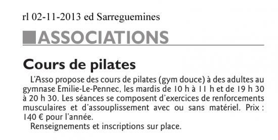 2013 11 02 cours de pilates
